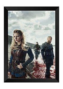 Quadro - Vikings Personagens
