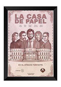 Quadro - La Casa de Papel Poster