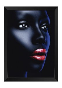 Quadro - Makeup Black Face