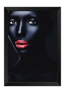 Quadro - Makeup Black Face 2
