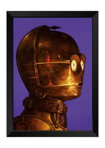 Quadro - Star Wars C-3PO
