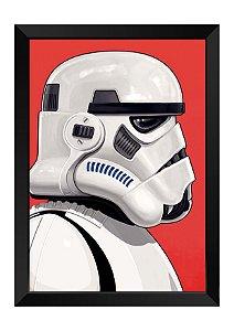 Quadro - Star Wars Soldado Clone