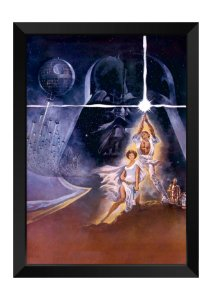 Quadro - Star Wars Personagens Poster