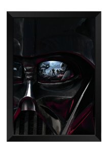 Quadro - Star Wars Darth Vader Face