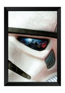 Quadro - Star Wars Soldado Clone Face