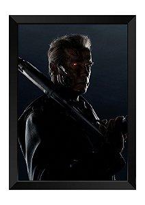 Quadro - Exterminador do Futuro Poster - Genisys He's Back