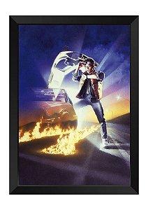 Quadro - De Volta para o Futuro Marty McFly Jr.