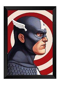 Quadro - Capitão América Poster