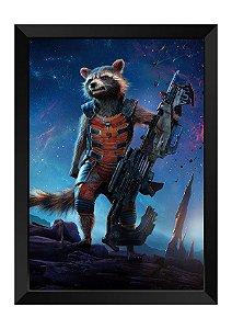 Quadro - Rocket Raccoon Guardiões da Galáxia
