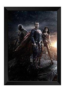 Quadro - Heróis DC