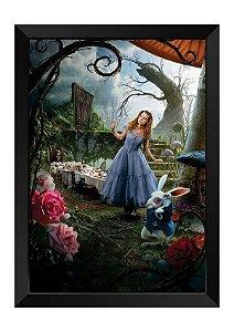 Quadro - Alice no País das Maravilhas