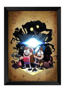 Quadro - Gravity Falls: Um Verão de Mistérios