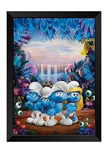 Quadro - Os Smurfs