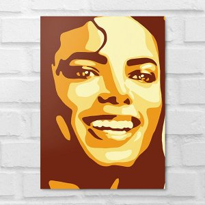 Placa Decorativa - Michael  Jackson Poster