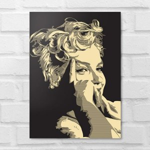 Placa Decorativa - Marilyn Monroe Poster