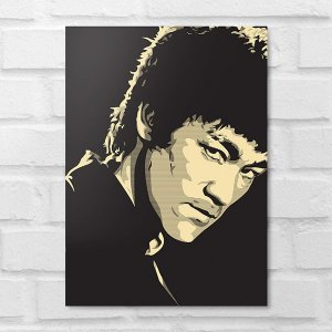 Placa Decorativa - Bruce Lee Poster