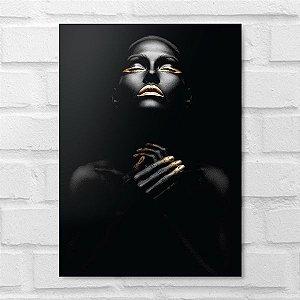Placa Decorativa - Makeup Black 1