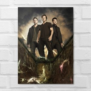 Placa Decorativa - Supernatural