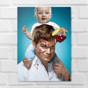 Placa Decorativa - Dexter