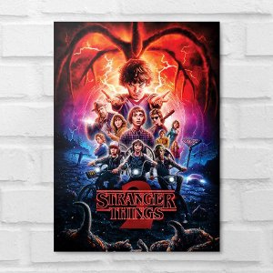 Placa Decorativa - Stranger Things - 2 Temporada
