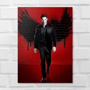 Placa Decorativa - Lucifer
