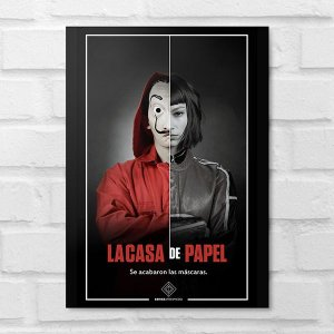 Placa Decorativa - La Casa de Papel Tokio