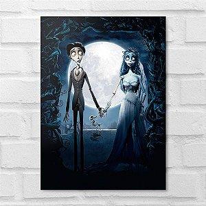 Placa Decorativa - A Noiva Cadáver