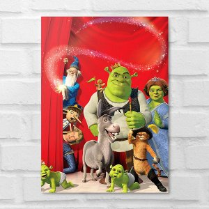 Placa Decorativa - Shrek