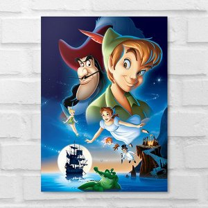 Placa Decorativa - Peter Pan