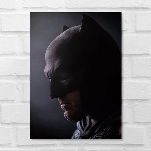 Placa Decorativa - Batman Face