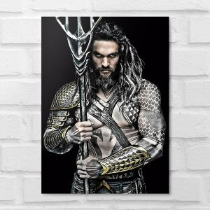 Placa Decorativa - Aquaman