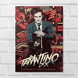 Placa Decorativa - Tarantino XX Poster