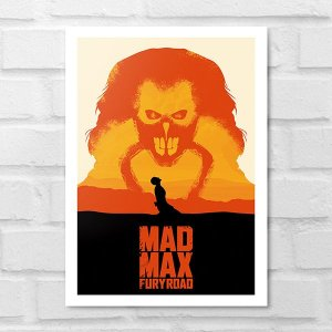 Placa Decorativa - Mad Max Poster