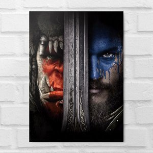 Placa Decorativa - Warcraft