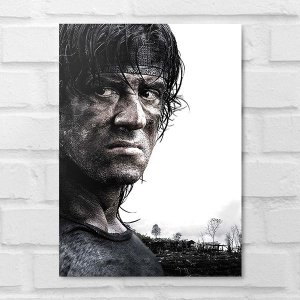 Placa Decorativa - Rambo