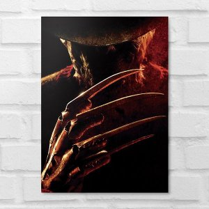 Placa Decorativa - Freddy Krueger