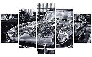Painel Mosaico Decorativo em 5 partes - Carro