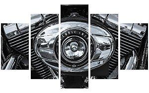 Painel Mosaico Decorativo em 5 partes - Motor