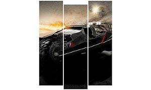 Painel Mosaico Decorativo em 3 partes - Mass Effect 3