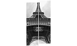 Painel Mosaico Decorativo em 2 partes - Torre Eiffel