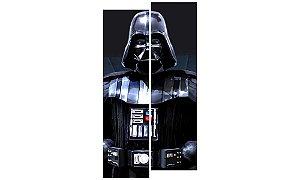 Painel Mosaico Decorativo em 2 partes - Darth Vader