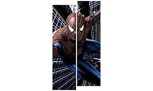 Painel Mosaico Decorativo em 2 partes - Homem Aranha 1