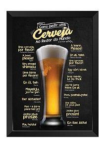 Quadro - Como Pedir uma Cerveja