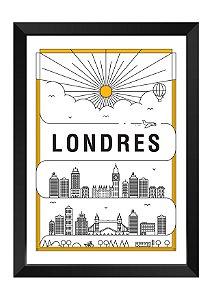 Quadro - Londres em Traços