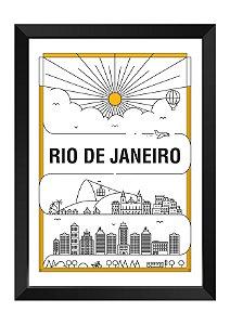 Quadro - Rio de Janeiro em Traços