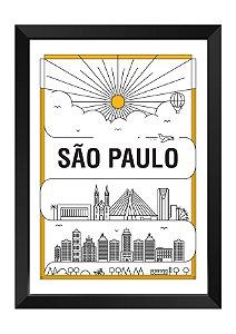 Quadro - São Paulo em Traços