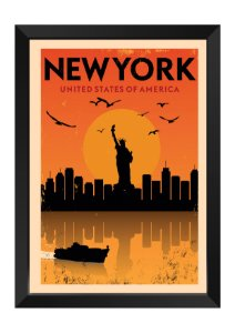 Quadro - Nova York Minimalista