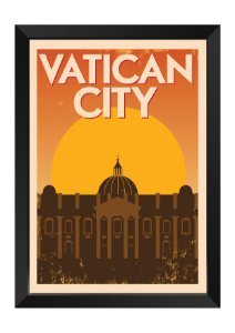 Quadro - Vaticano Minimalista