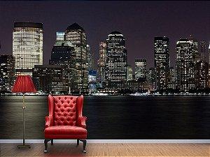 Painel Parede Fotográfico Skyline de New York