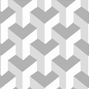 Papel de Parede Adesivo Geométrico Maison